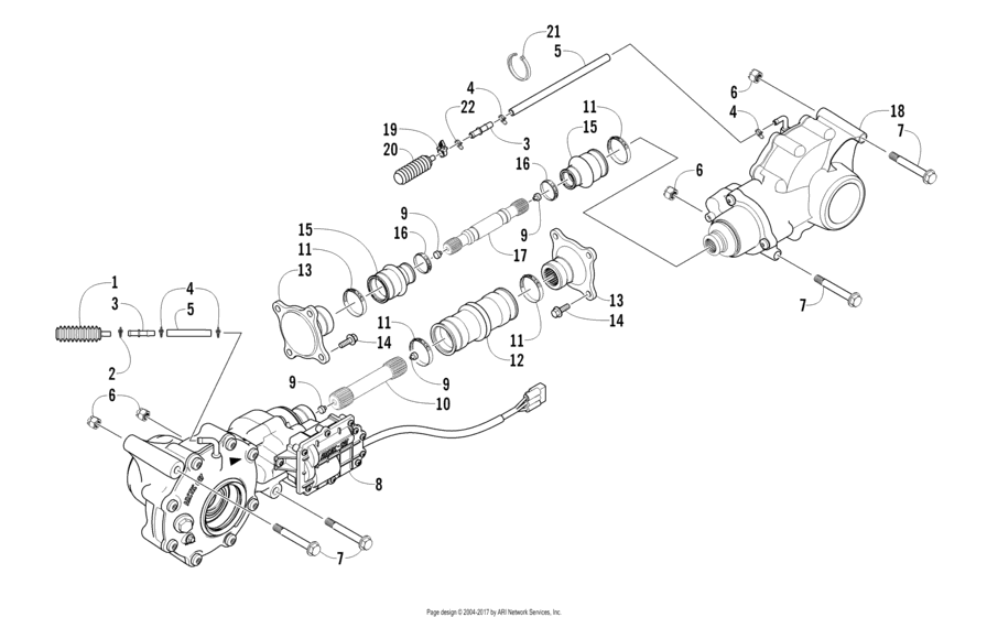 Drive Train Assembly