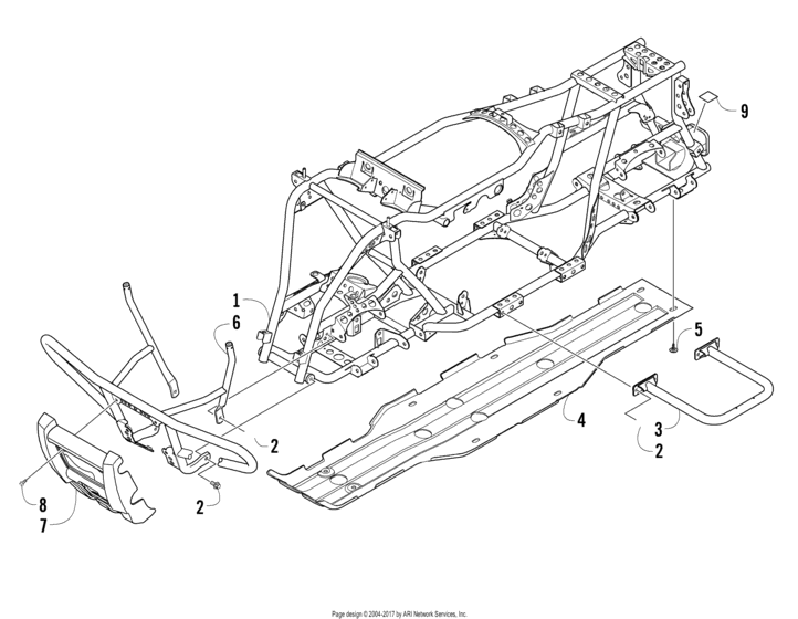 Frame And Related Parts