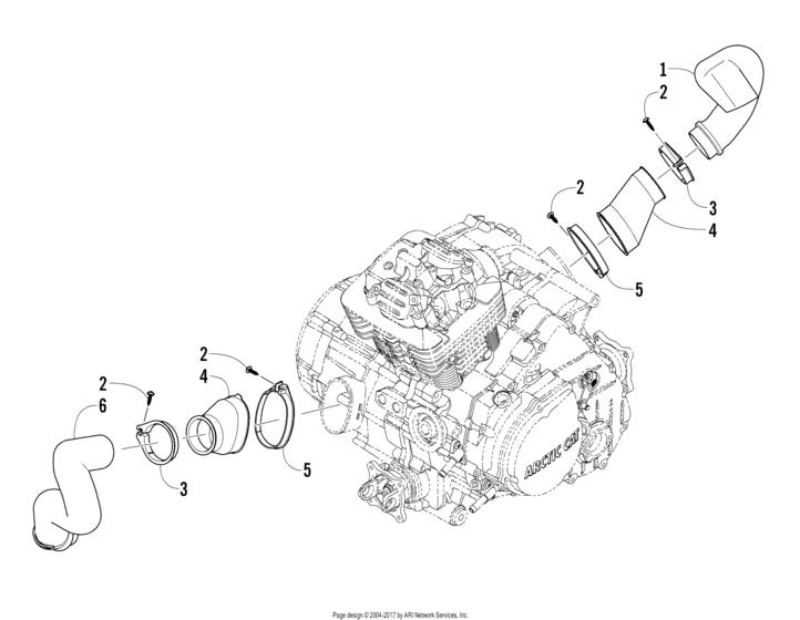 Case/belt Cooling Assembly