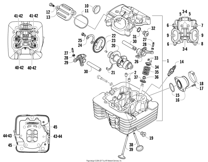 Cylinder Head And Camshaft/valve Assembly