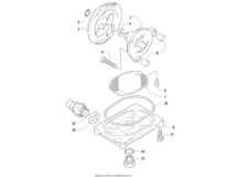 Oil Pump And Strainer Assembly