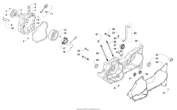 Right Crankcase And Cover Assembly