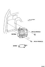 Tool Box & License Plate Bracket