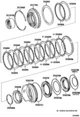 Brake No.3, 1St & Reverse Brake (Atm)