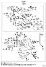 Engine Overhaul Gasket Kit
