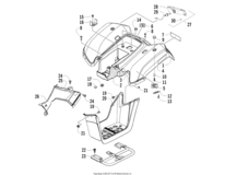 Rear Body Panel And Taillight Assemblies