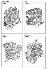 Partial Engine Assembly