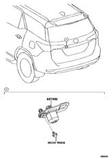 Rear Monitor Display & Camera