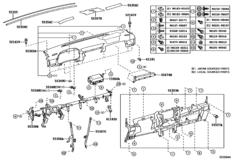 Instrument Panel & Glove Compartment