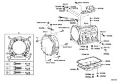 Transmission Case & Oil Pan (Atm)
